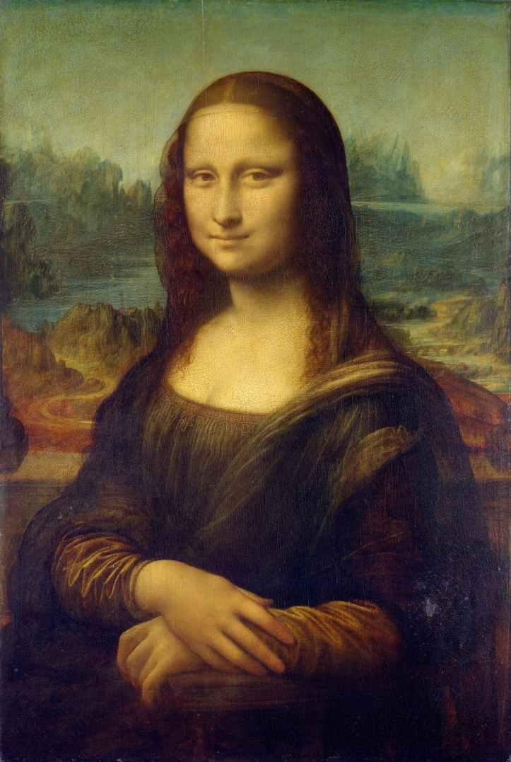 woman art painting mona lisa