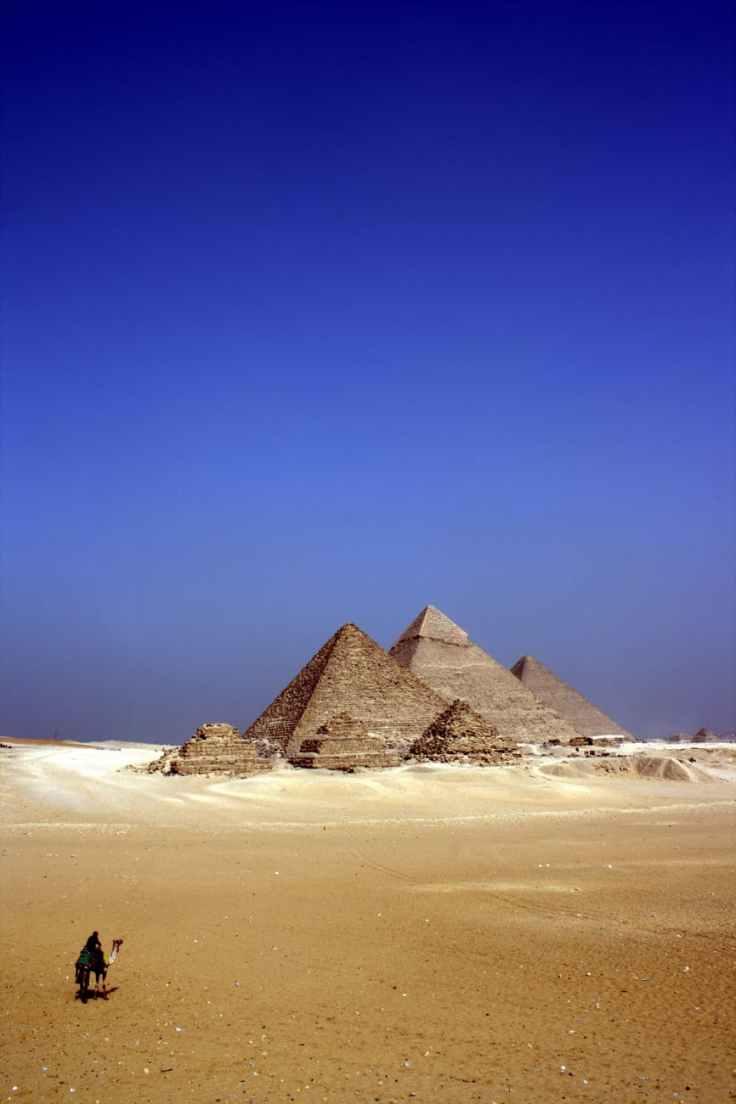 sky sand blue desert
